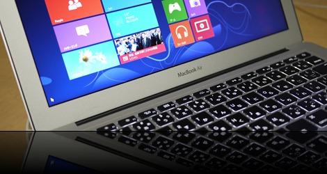 MacのBoot Campに『Windows8』をインストール