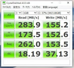 SSDのベンチマーク