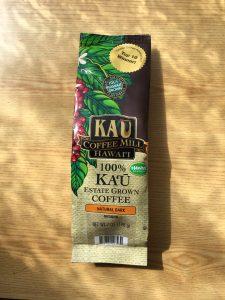 100% KAU coffee
